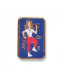 Girls Only Club Unit Pins. Fit For Life