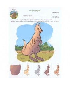 Rainbows Unit Activity Pages. Kangaroos. Prayer.