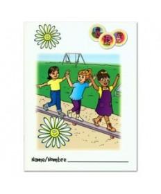 Daisies Activity Book Folder