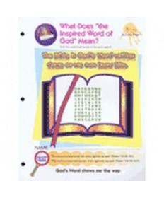 Prims Activity Pages. Bible