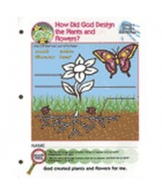 Prims Activity Pages. Plants and Flowers
