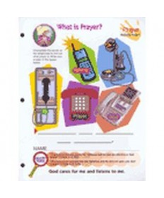 Prims Activity Pages. Prayer