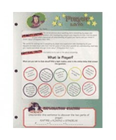Stars Unit Activity Pages. Prayer