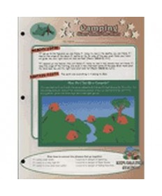 Stars Unit Activity Pages. Camping
