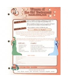 Stars Unit Activity Pages. Women of the Old Testament