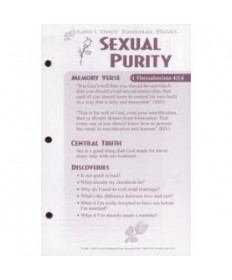Girls Only Journal Page Units. Sexual Purity