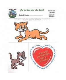 Rainbows Unit Activity Pages. Cats. Loving Others. Spanish