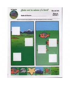 Rainbows Unit Activity Pages. Elephants. Creation. Spanish