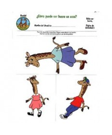 Rainbows Unit Activity Pages. Giraffes. Kindness. Spanish