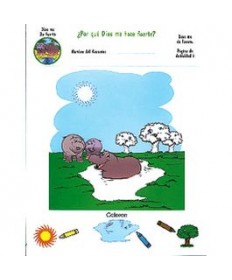 Rainbows Unit Activity Pages. Hippos. God Gives Me Strength. Spanish