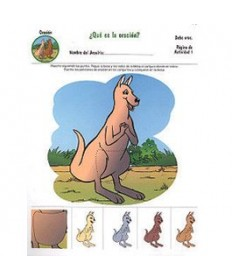 Rainbows Unit Activity Pages. Kangaroos. Prayer. Spanish