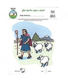 Rainbows Unit Activity Pages. Sheep. Following Jesus Spanish