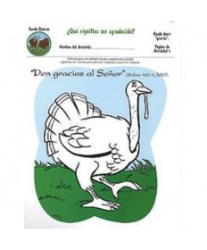 Rainbows Unit Activity Pages. Turkeys. Thanking. Spanish