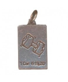 Friends Club Pendant Charms. Fitness