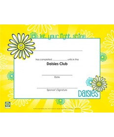 Daisies Certificate of Completion - pkg/10