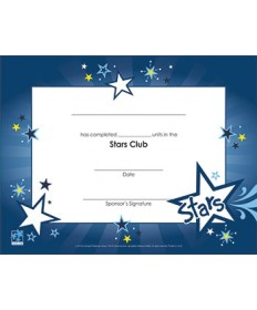 Stars Certificate of Completion - pkg/10