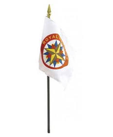 Royal Rangers Flag for Desk Set