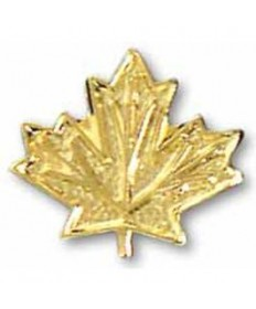 """Adventure Pins. Outdoor Pin. Maple Leaf 3/8"""""""
