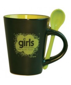 Girls Ministries Mug black/green