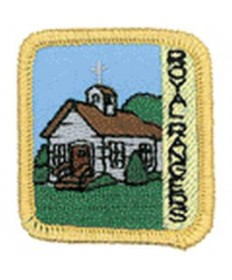 Ranger Kids Achievement Patch Church History