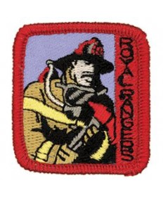 Ranger Kids Achievement Patch Firefighter