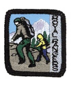 Ranger Kids Achievement Patch Going Places