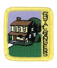 Ranger Kids Achievement Patch Commander's Choice Home