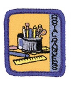 Ranger Kids Achievement Patch Craft