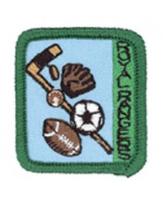 Ranger Kids Achievement Patch Sports