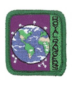 Ranger Kids Achievement Patch Taking Care Of God's World