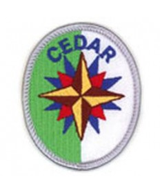 Adventure Rangers Advancement Patch/Cedar