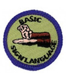 Blue Merits/Basic Sign Language