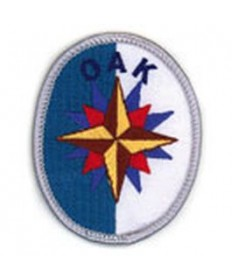 Adventure Rangers Advancement Patch/Oak