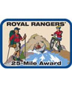 Mile Award Patch-25