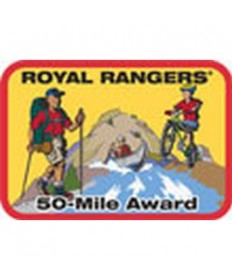 Mile Award Patch-50