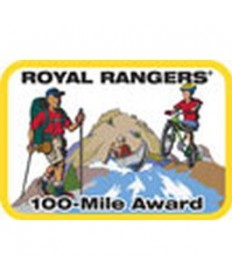 Mile Award Patch-100