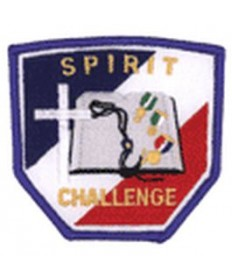 Spirit Challenge Patches/Blue