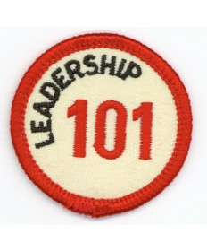 Leadership 101 Merit Patch (Red)