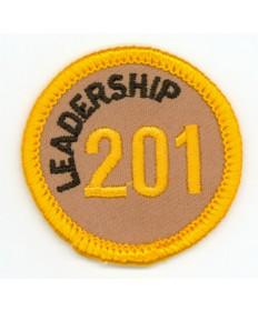 Leadership 201 Merit Patch (Gold)