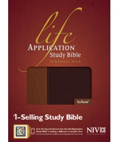 Life Application Study Bible NIV, Personal Size, Brown/Tan
