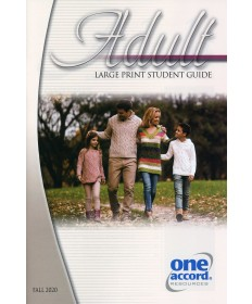 Adult Large Print Student Guide / Fall