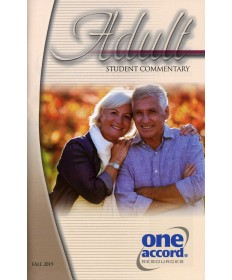 Adult Student Commentary / Fall