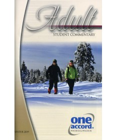 Adult Student Commentary / Winter
