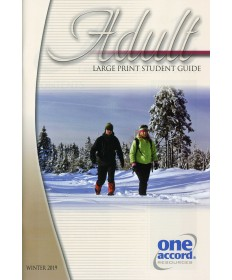 Adult Large Print Student Guide / Winter