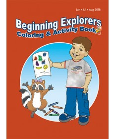 Beginning Explorers Coloring and Activity Book - Summer