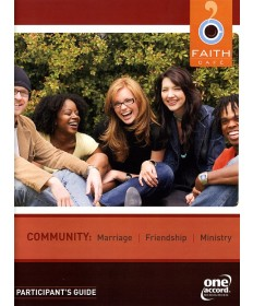 Faith Cafe': Community, Marriage, and Ministry Participant's Guide