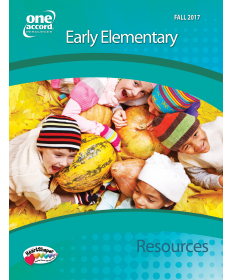 Early Elementary Resources/ Fall