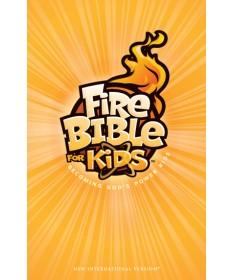 NIV FireBible for Kids, Paperback