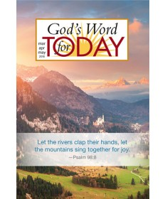 God's Word for Today Daily Devotional / Spring