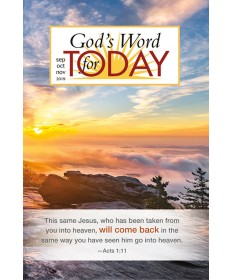God's Word for Today Daily Devotional / Winter